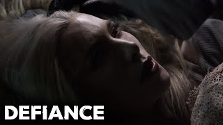 DEFIANCE (Inside Episode) | The Beauty Of Our Weapons | SYFY