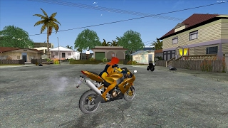 GTA San Andreas California Megamod Gameplay (4K)