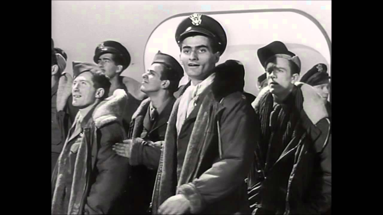 A Matter of Life and Death (1946) - the aircrew section of Heaven ...