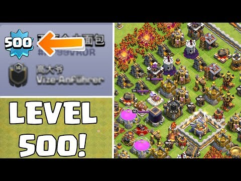 LEVEL 500 SPIELER! ☆ Clash of Clans ☆ CoC