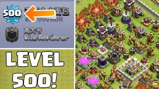 LEVEL 500 SPIELER! ☆ Clash of Clans ☆ CoC