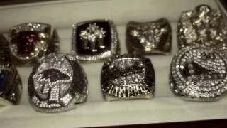 My World Championship Rings Collection