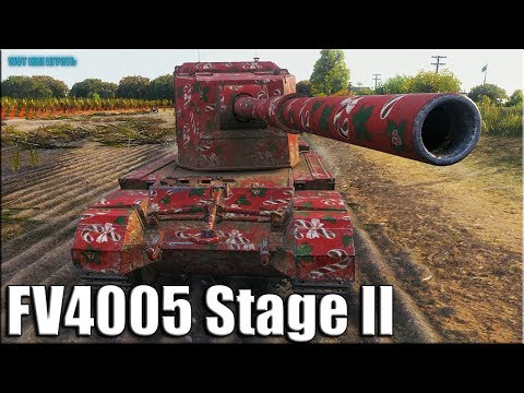 НЕ зря назвали БАБАХОЙ FV4005 Stage II World of Tanks лучший бой