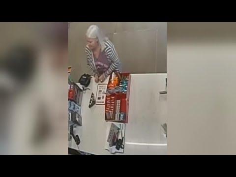 Fugitive grandma accused of two murders now in police custody