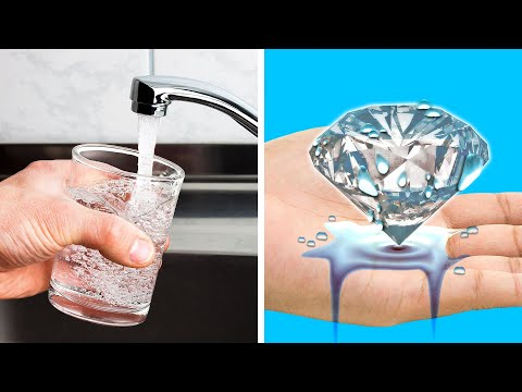 32 WATER TRICKS AND SCIENCE EXPERIMENTS