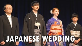 We did a Japanese wedding demonstration!