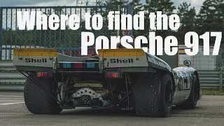 Three Ways For You To See A Porsche 917