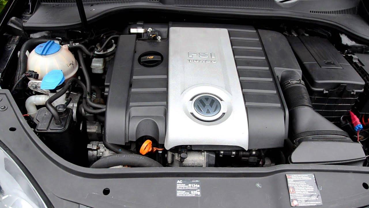 VW Golf Gti engine sound outside  YouTube