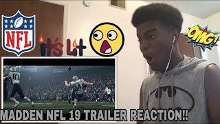 Madden NFL 19 – Official Reveal Trailer Reaction