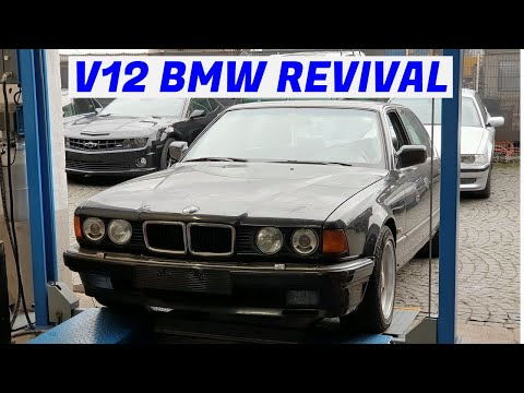 First start in 5 years - V12 BMW E32 750iL - Project Karlsruhe: Part 3