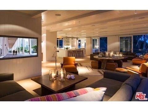 Amazing Interior Design Inside Cindy Crawfordu0027s House In Malibu