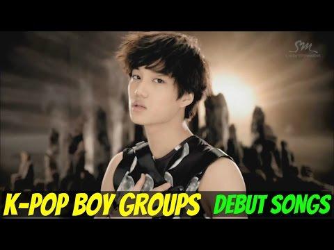 K-POP BOY GROUPS - DEBUT SONGS [1998-2015]