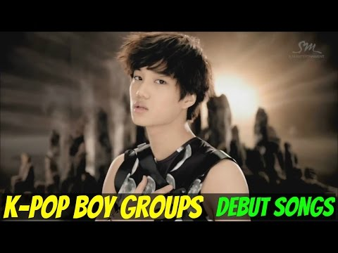 K-POP BOY GROUPS - DEBUT SONGS [1998-2015]