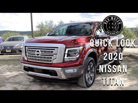 Quick Look- 2020 Nissan Titan