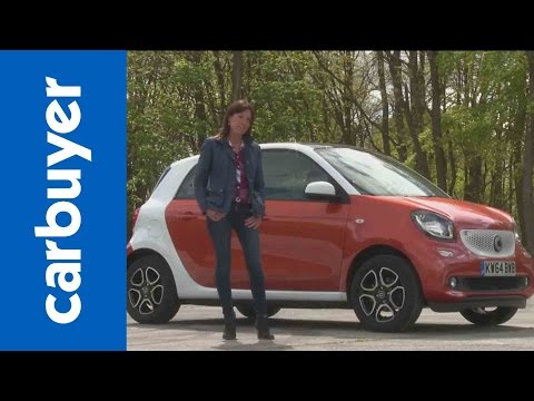 Smart ForFour city car review – Carbuyer