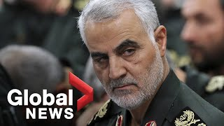 Politicians react following U.S. airstrike that killed top Iranian general