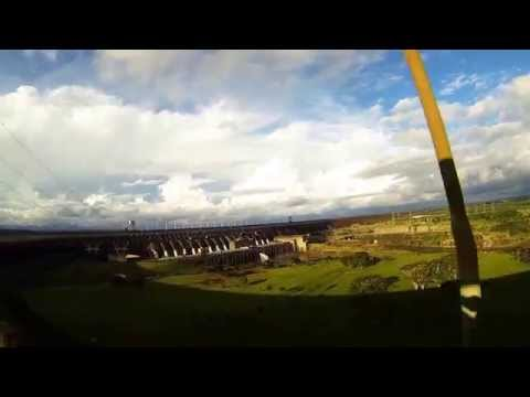 The Itaipu Dam -  Wonder of the Modern World Gopro Full HD