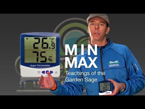 Min-Max Hygro Thermometer - The Garden Sage 2