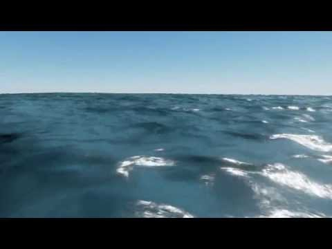 Parametric ocean shader WIP: Gerstner waves test - UE4