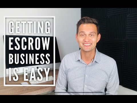 Getting escrow and title business is EASIER than you THINK!