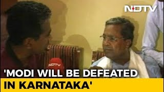 PM Modi Going To Temples As He Knows BJP Will Be Defeated: Siddaramaiah
