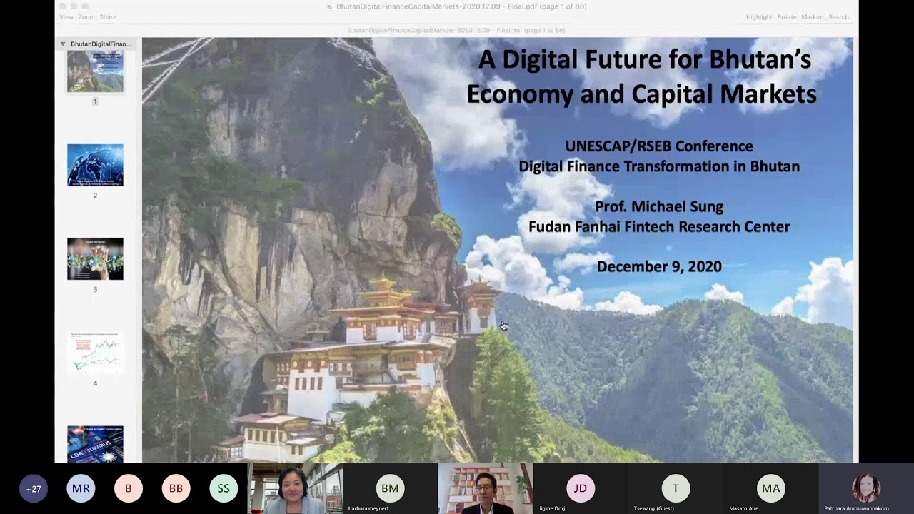 Download Conference on Digital Finance Transformation in Bhutan:A Digital Future for Bhutan's Capital Markets