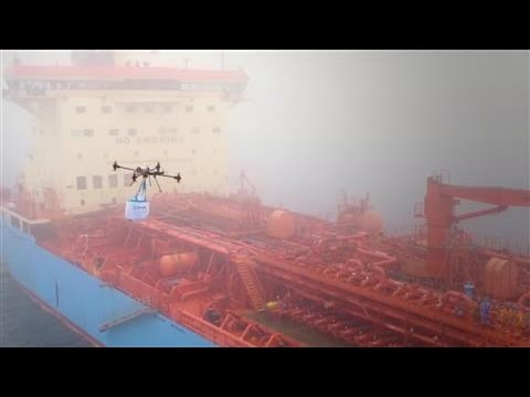 Maersk Takes Drone Technology to Sea