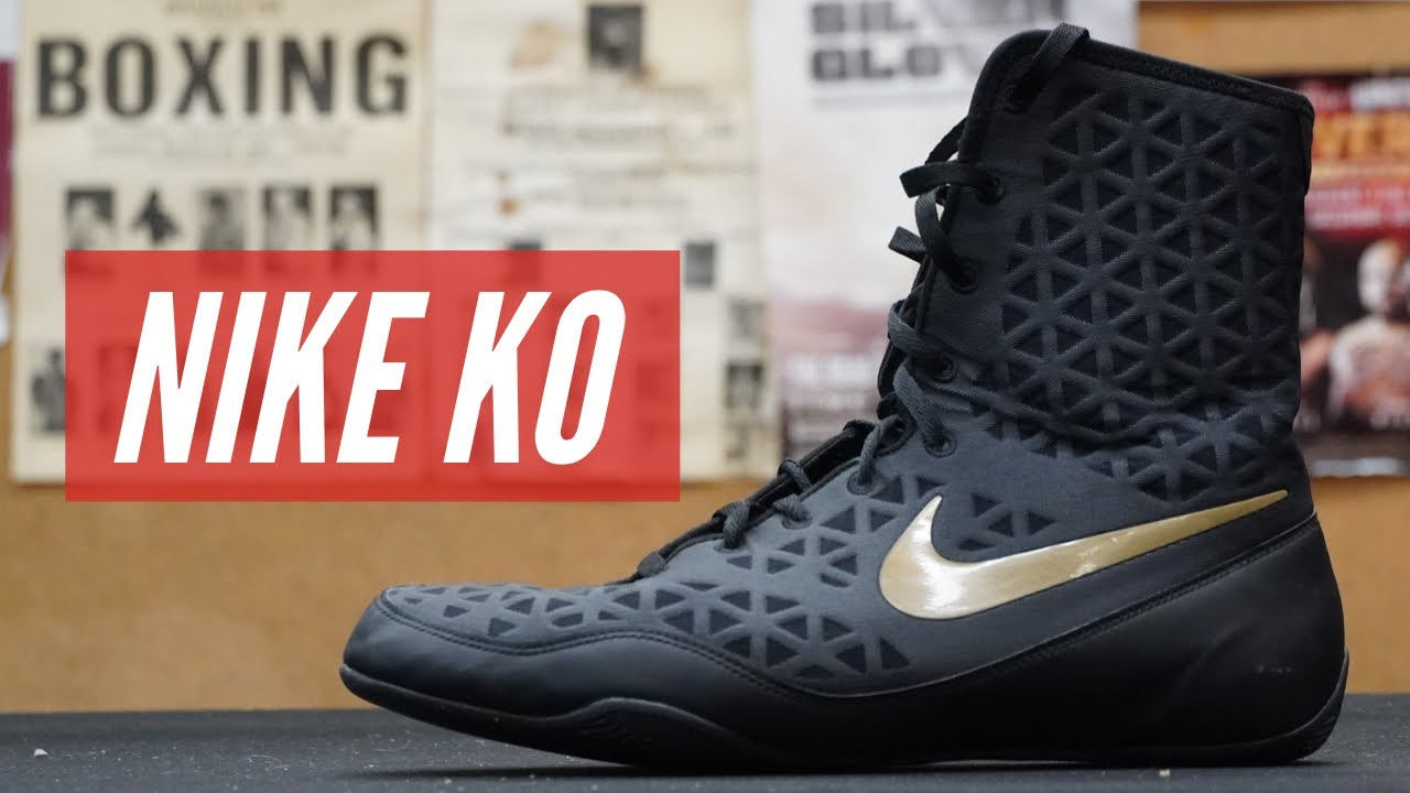 size 40 1af35 3192f Unboxing the Nike KO Boxing Shoes