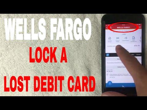 ✅ How To Lock A Lost Wells Fargo Debit Card On Mobile App