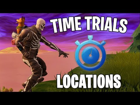 ALL TIME TRIALS IN FORTNITE - SEASON 6