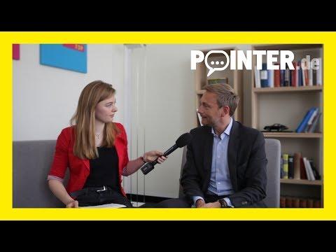 Pointer fragt Politiker: Christian Lindner (FDP)