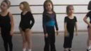 Alexis' tap dancing class and summer fun