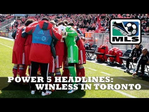 Winless in Toronto - Power 5 Early Headlines