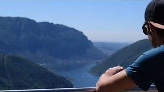 Auffahrt im Tessin - Auszeit in der Schweiz