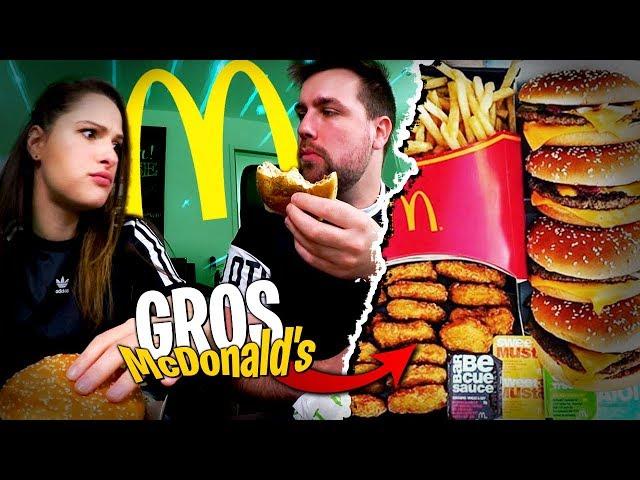 On dévalise McDonald's avec Pidi... Je suis plein à craquer !