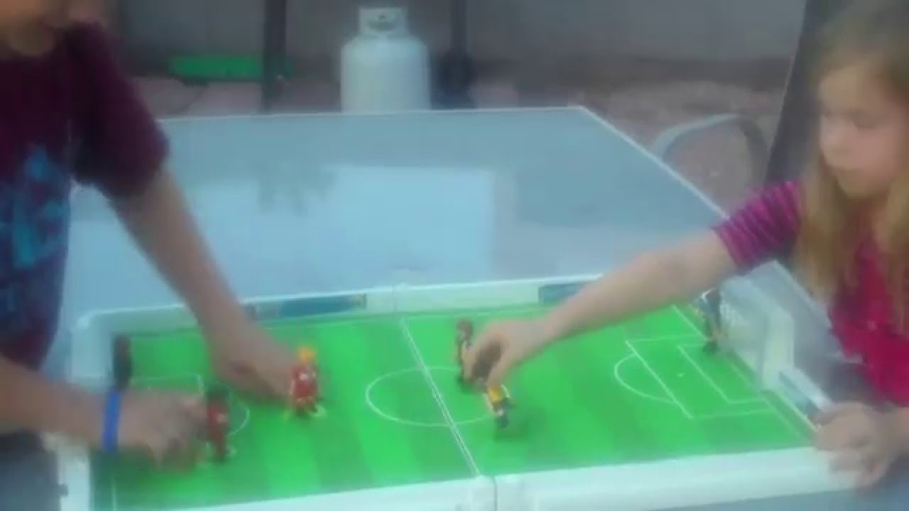 playmobil soccer game review  youtube