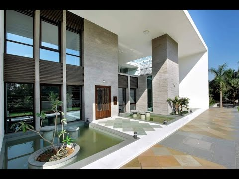 Simple Clean Lines Minimalist Modern House Design with ...