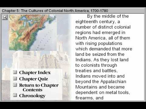 the cultures of colonial north america View notes - chapter 5: the cultures of colonial north america from history 2114/2124 at albert einstein high apush chapter 5: the cultures of colonial north america (1700-1780) i.