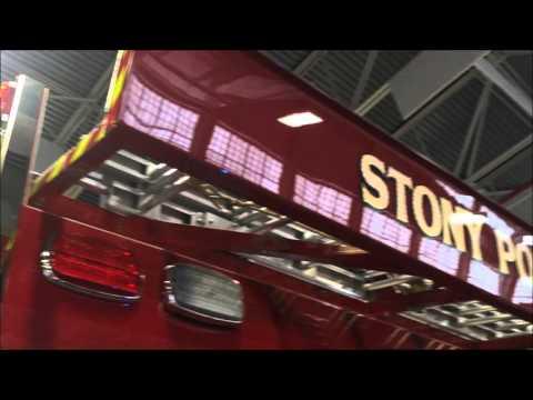 WALK AROUND OF 18-E8 - WAYNE HOSE CO. 1 - STONY POINT FD. AT THE FIRE, RESCUE & EMS MEGA SHOW 2016.