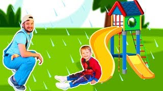 Rain Rain Go Away Song #9 | Mirik Yarik Nursery Rhymes & Kids Songs