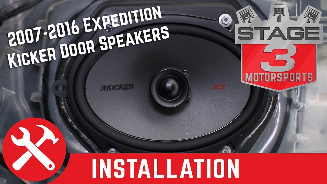 2007 2016 Expedition Kicker Ksc68 6x8 Door Speaker Upgrade Kit Install