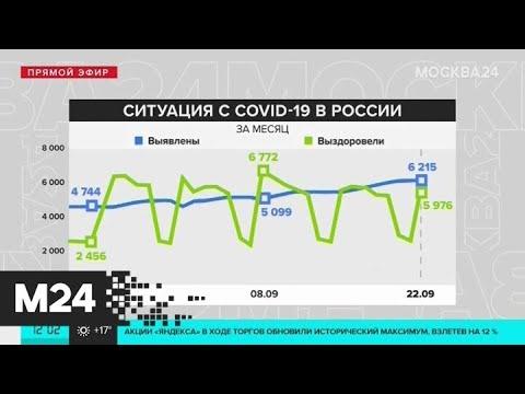 В России растет число заболевших COVID-19 - Москва 24