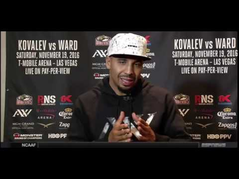 """Andre Ward: """"Kovalev has a conditioning problem that will show in this fight"""""""