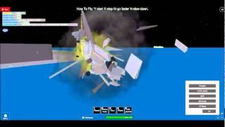 epic airplane crash
