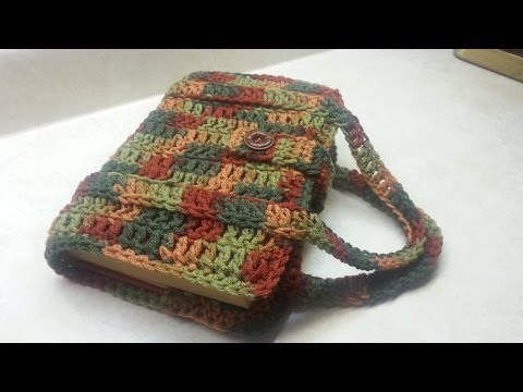 CROCHET How To  #Crochet Book Bag / Bible/Book Carrier  #TUTORIAL #66 LEARN CROCHET