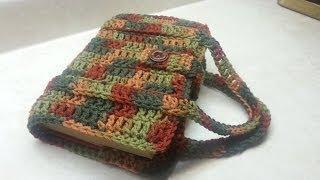 How to Crochet a Book Carrier | Bagoday Crochet | Tutorial #66
