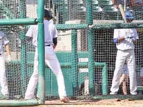 2013 Blake Rutherford batting practice - Chaminade College Preparatory High School baseball