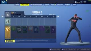 NEU Fortnite Season 7 Tanz Freier Flow - Free Flow Epic Games
