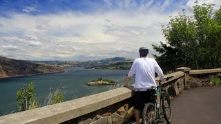 Historic Columbia River Highway Trail, Mosier Twin Tunnels (Zach