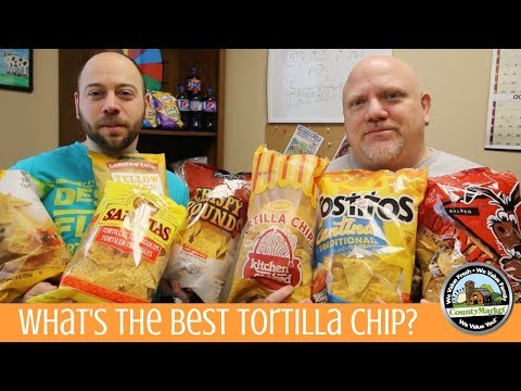 What's The Best Tasting Tortilla Chip? | Yellow Corn Chip | Taste Test Rankings